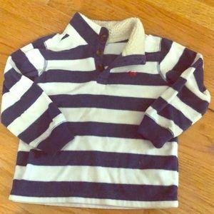 Carter's Shirts & Tops - Carters toddler boy striped fleece.